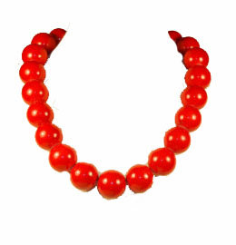 Rockabilly Bead Necklace