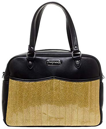 Gold Diaper/Overnight Bag