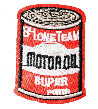 Motor Oil Patch