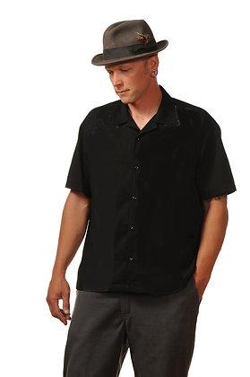 Black Retro Bowler