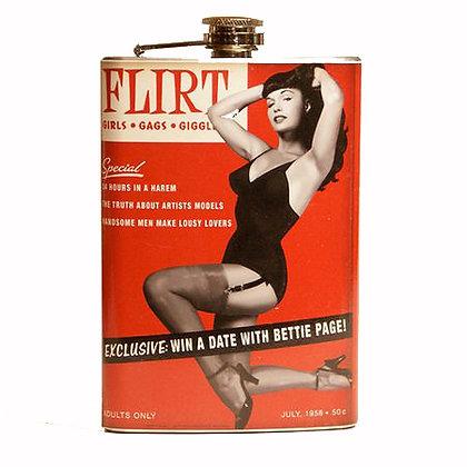 Bettie Page Flask