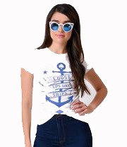 Loose Anchor Tee
