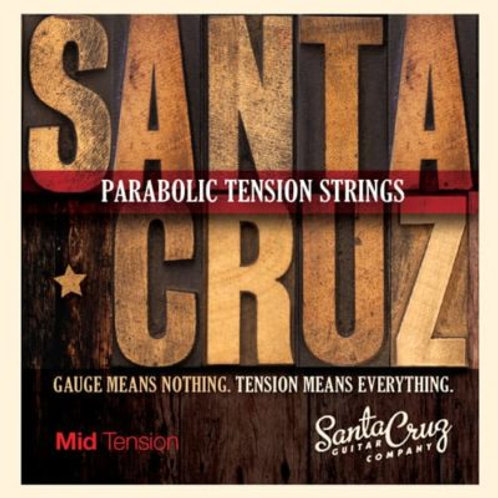 Santa Cruz parabolic tension strings - Medium tension