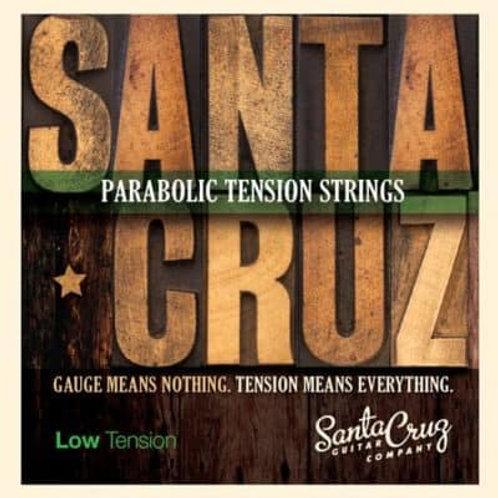 Santa Cruz parabolic tension strings - Low tension