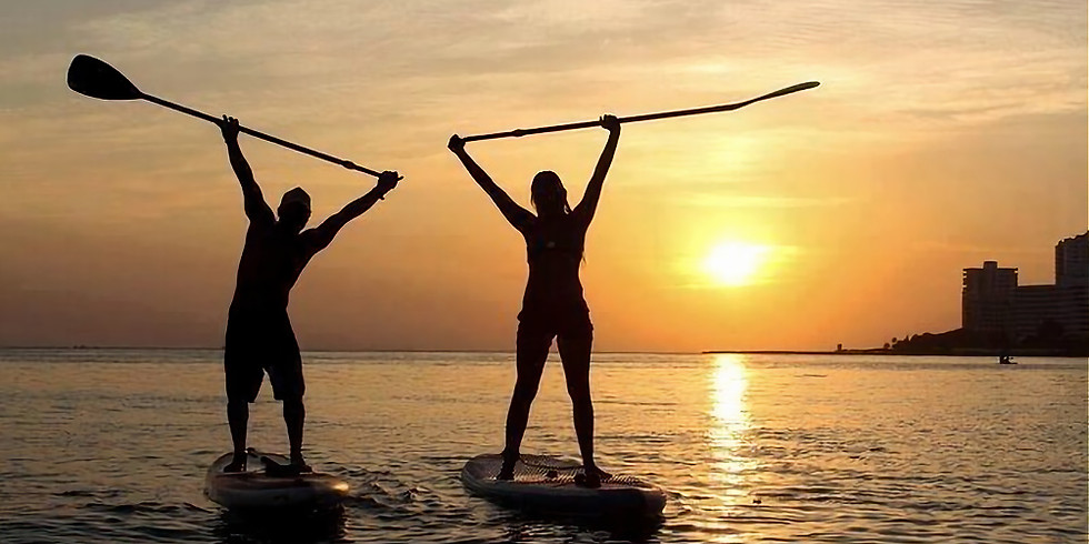 EVENING Introduction to SUP Skills Course - 4 Weeks