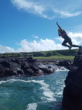Cliff Jump - Coasteering - Causeway Coas