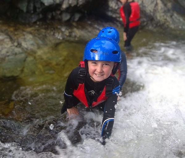 Wet Bouldering - Mourne Mountains - Kids