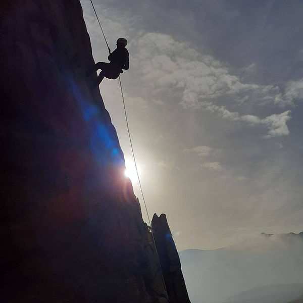 Abseil - Abseiling - Mourne Mountains -