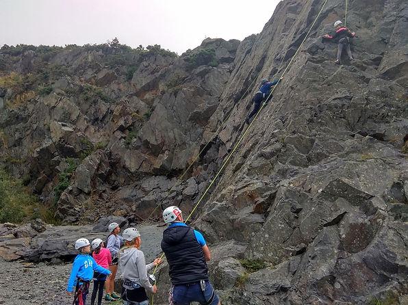 Rock Climbing - Group - Youth - Climbing