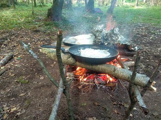 Soda bread - campfire - bushcraft.jpg