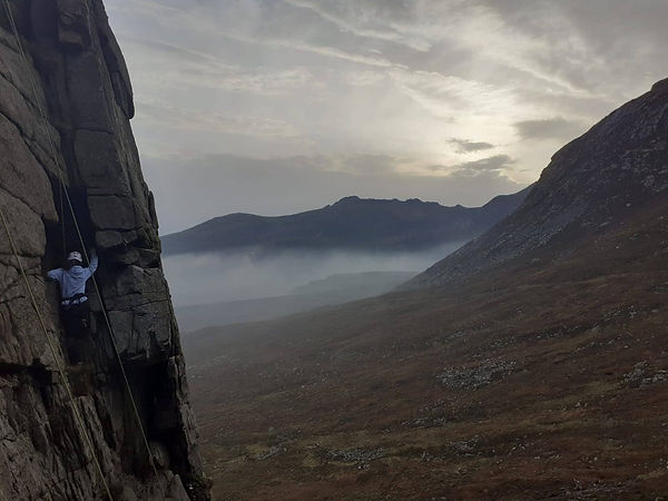 Rock Climbing - Mourne Mountains - Fairh