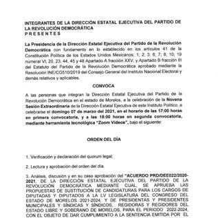 CÉDULA DE NOTIFICACIÓN.