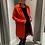 Thumbnail: Gilet manteau rouge