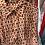 robe chemisier fleurs rouge