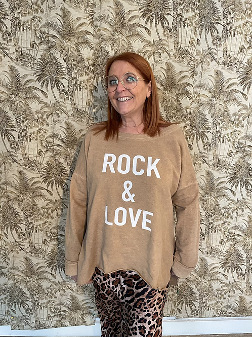 sweat rock and love camel