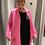 Thumbnail: Gilet manteau rose