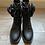 boots noire pochette