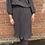 jupe plissée à pois