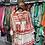 robe aztèque rouge