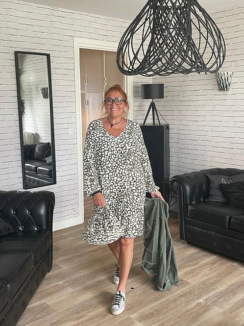 robe kaki Chantal b