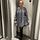Thumbnail: Robe plissée léo grise