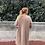gilet long mohair camel