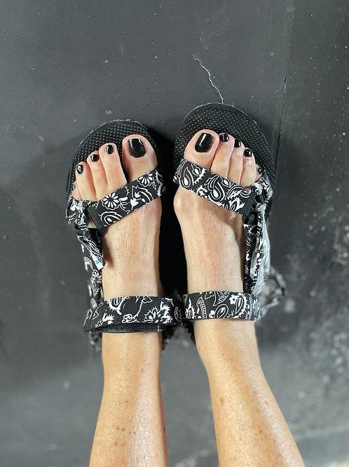 sandales arizona noire