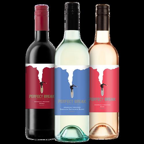 Perfect Break Wines Variety Three Pack (3x 750ml)