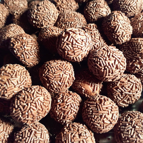 Chocolate Flavoured Rum Balls
