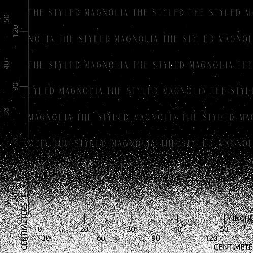 R23 PREORDER: MONOCHROME SPLATTER (1.5 YARD PANEL)