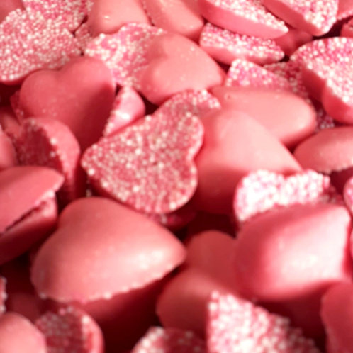 Strawberry Flavoured Candy Hearts