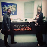 Anthony at Association of Zoos & Aquariu