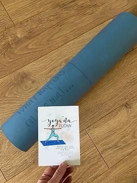 Yoga mats created by Jade