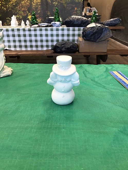 Peek-a-boo Snowman Ornament