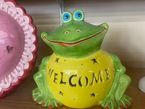 *PRE-ORDER*Personalized Light-up Garden Frog