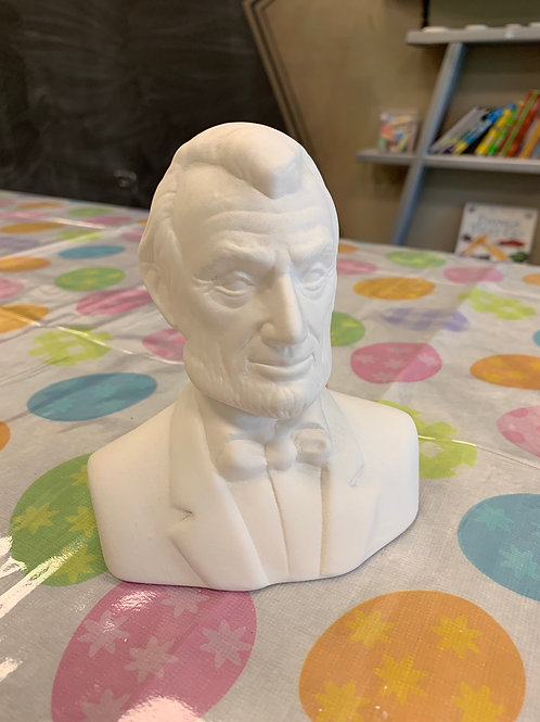 Lincoln Sculptur
