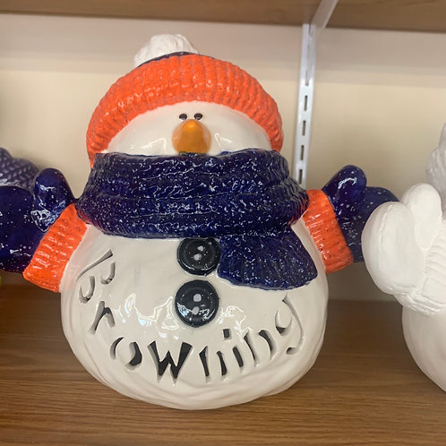 Personalized Light-up Snuggles the Snowman
