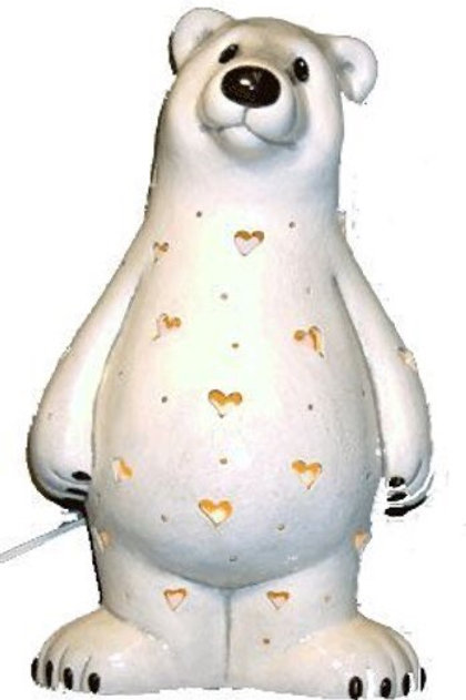 *PRE-ORDER* Personalized Light-up Polar Bear