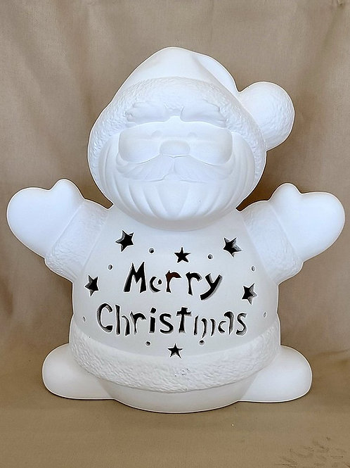 *PRE-ORDER* Personalized Light-up Large Santa