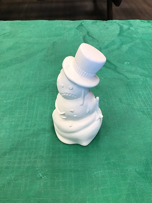 Sad Melting Snowman Ornament
