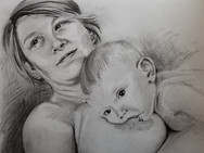 Person Feeding Their Child