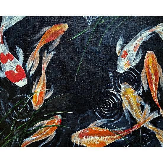 Original Artwork - Pondscape