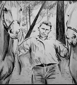 great grandfather drawing