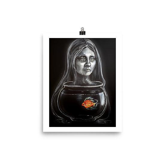 Art Print - Surreal Fishbowl