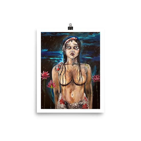 Art Print - Koi Mermaid