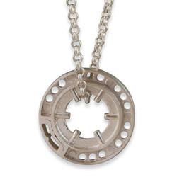 Keepin' It Reel necklace (heavy ⚡)