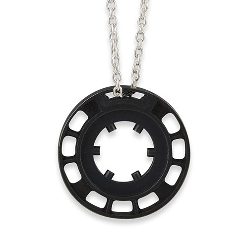 Keepin' it reel necklace