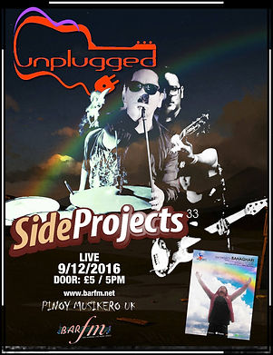 Side Projects live at PMUK