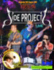 Side Projects live at party at the beach