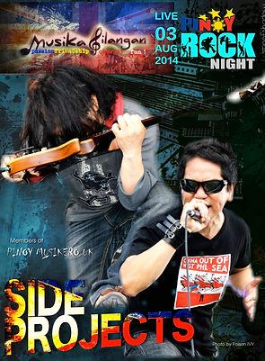 Side Projects live at Musika Silangan
